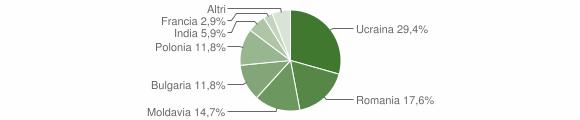 Grafico cittadinanza stranieri - Stilo 2010