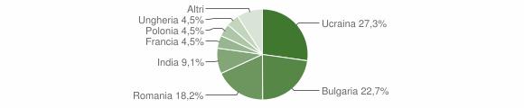 Grafico cittadinanza stranieri - Stilo 2013