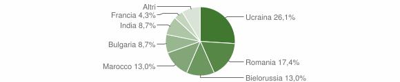 Grafico cittadinanza stranieri - Stilo 2014
