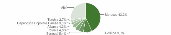 Grafico cittadinanza stranieri - 2004
