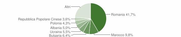 Grafico cittadinanza stranieri - 2017