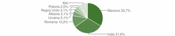 Grafico cittadinanza stranieri - Gioia Sannitica 2015