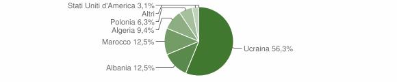 Grafico cittadinanza stranieri - Tufino 2007
