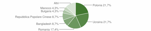 Grafico cittadinanza stranieri - San Paolo Bel Sito 2019