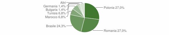 Grafico cittadinanza stranieri - Prignano Cilento 2019