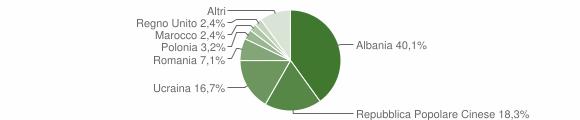 Grafico cittadinanza stranieri - Serino 2008