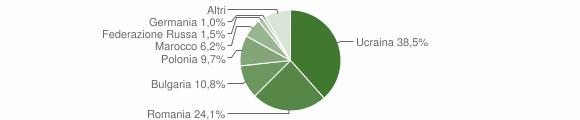 Grafico cittadinanza stranieri - Grottaminarda 2011