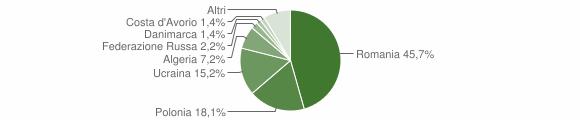 Grafico cittadinanza stranieri - Camposano 2019