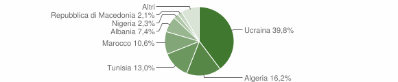 Grafico cittadinanza stranieri - Trentola Ducenta 2007