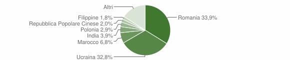 Grafico cittadinanza stranieri - Sant'Anastasia 2019