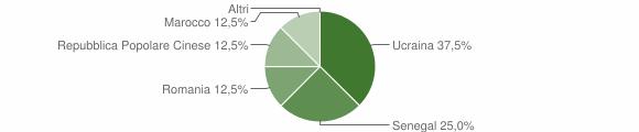 Grafico cittadinanza stranieri - Parolise 2007