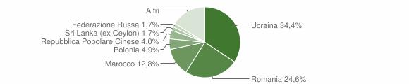 Grafico cittadinanza stranieri - Somma Vesuviana 2019