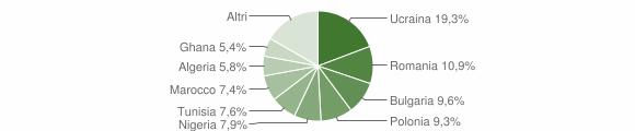 Grafico cittadinanza stranieri - Qualiano 2014