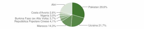 Grafico cittadinanza stranieri - Sant'Arpino 2019