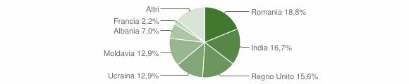 Grafico cittadinanza stranieri - Bardi 2019