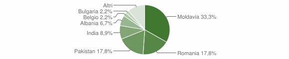 Grafico cittadinanza stranieri - Bore 2015