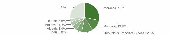 Grafico cittadinanza stranieri - San Felice sul Panaro 2011