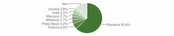 Grafico cittadinanza stranieri - Lizzano in Belvedere 2015