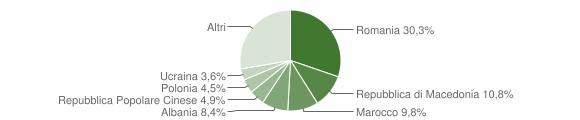 Grafico cittadinanza stranieri - Castrocaro Terme e Terra del Sole 2013