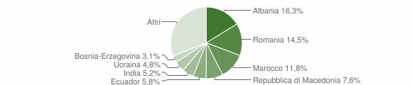 Grafico cittadinanza stranieri - 2014