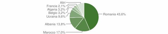 Grafico cittadinanza stranieri - Sant'Andrea del Garigliano 2013