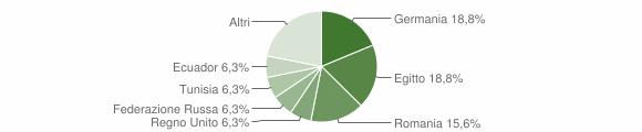 Grafico cittadinanza stranieri - Neirone 2017