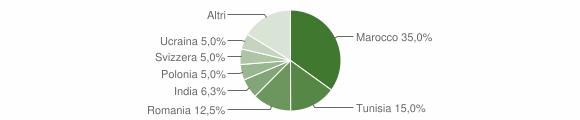 Grafico cittadinanza stranieri - Brissago-Valtravaglia 2015