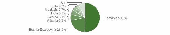 Grafico cittadinanza stranieri - Cedegolo 2019