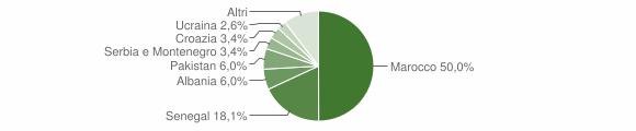 Grafico cittadinanza stranieri - Agnosine 2008