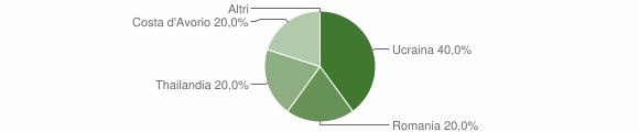 Grafico cittadinanza stranieri - Rasura 2019