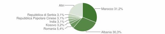 Grafico cittadinanza stranieri - Trenzano 2019