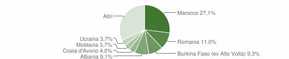 Grafico cittadinanza stranieri - Roè Volciano 2011