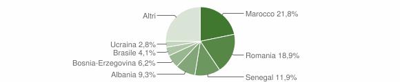 Grafico cittadinanza stranieri - Carvico 2014