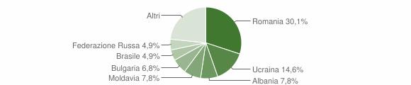 Grafico cittadinanza stranieri - Serle 2015