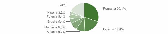 Grafico cittadinanza stranieri - Serle 2018