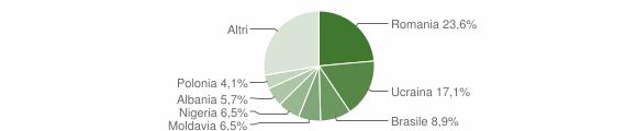 Grafico cittadinanza stranieri - Serle 2019