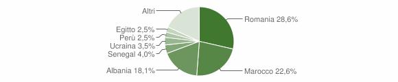 Grafico cittadinanza stranieri - Cividate Camuno 2010