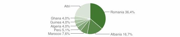 Grafico cittadinanza stranieri - Cividate Camuno 2017