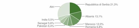 Grafico cittadinanza stranieri - Rovato 2009