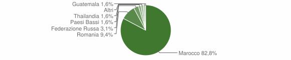 Grafico cittadinanza stranieri - Provaglio Val Sabbia 2010