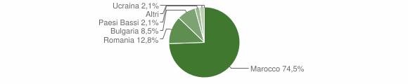 Grafico cittadinanza stranieri - Provaglio Val Sabbia 2014