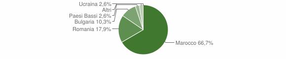 Grafico cittadinanza stranieri - Provaglio Val Sabbia 2015