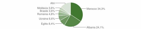 Grafico cittadinanza stranieri - Idro 2015