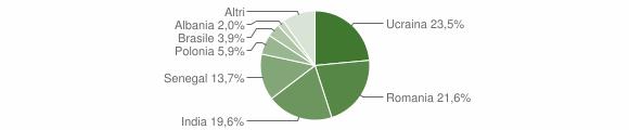 Grafico cittadinanza stranieri - Berzo Demo 2014