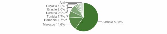 Grafico cittadinanza stranieri - Bienno 2012