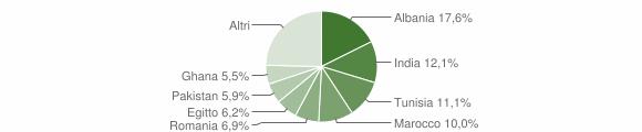 Grafico cittadinanza stranieri - Berlingo 2009