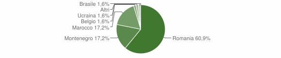 Grafico cittadinanza stranieri - Braone 2009