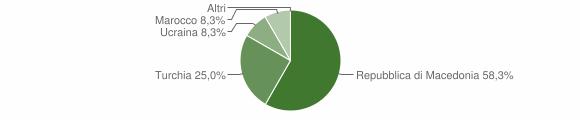 Grafico cittadinanza stranieri - Sernio 2007