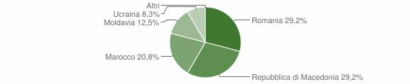 Grafico cittadinanza stranieri - Sernio 2015