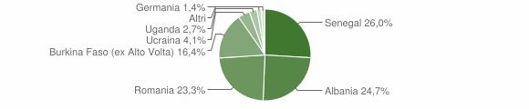 Grafico cittadinanza stranieri - Mura 2019